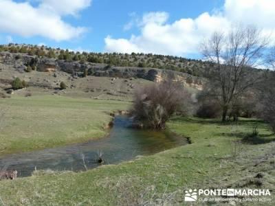 Senderismo Segovia - Riberas de los ríos Pirón y Viejo; grupos de senderismo en madrid gratis